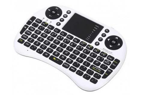 Vezeték nélküli mini keyboard tv-hez, pc-hez