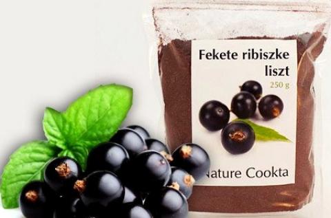 Fekete ribiszke liszt 250 g-os kiszerelésben