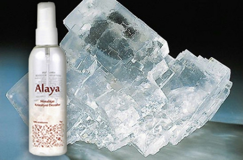 100 ml Himalája kristálysós Alaya dezodor