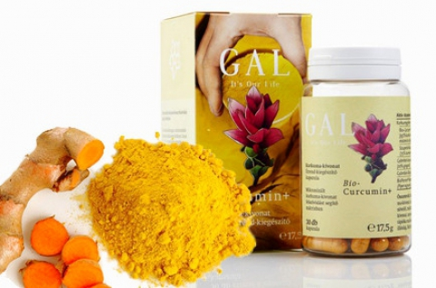 Gal Bio-Curcumin 225 mg kurkuma gyökér kapszula