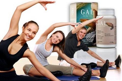 GAL Kreatin-monohidrát kapszula vagy utántöltő