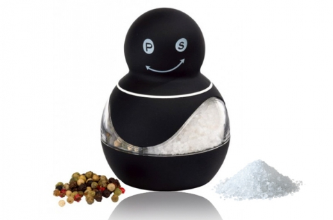 Innovációs só- és borsdaráló gumis felülettel