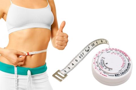 150 cm-es mérőszalag testtömeg-index méréshez
