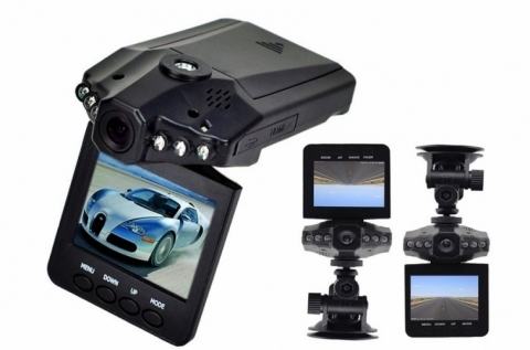 HD-DVR autós eseményrögzítő kamera