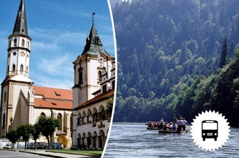 Buszos utazás 1 főnek tutajozással Szlovákiába