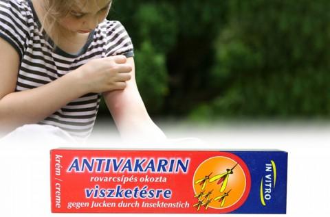 Gyógynövény alapú Antivakarin krém