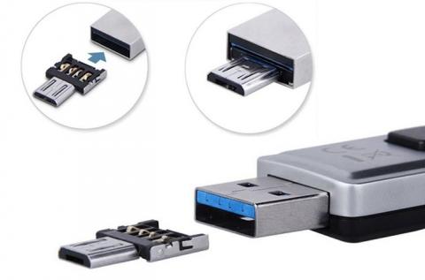 USB OTG adapter bármilyen USB eszközhöz