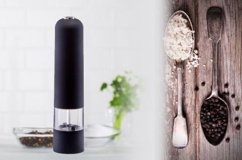 Kiváló minőségű elektromos só- és borsőrlő