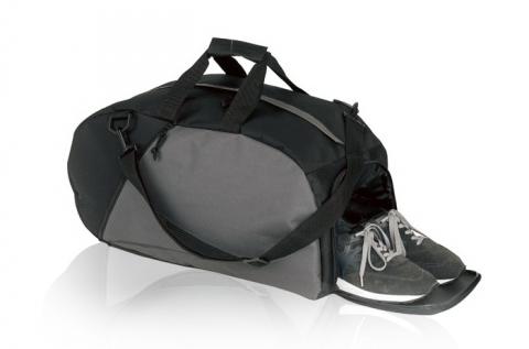 600D sporttáska cipőtartó rekesszel