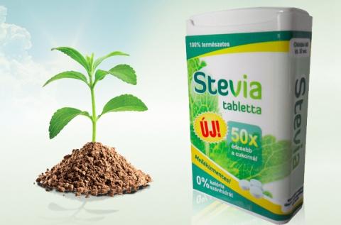 Cukor-Stop stevia tabletta 200 db-os kiszerelésben