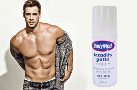 Bodymed izzadás gátló spray férfiaknak kifejlesztve