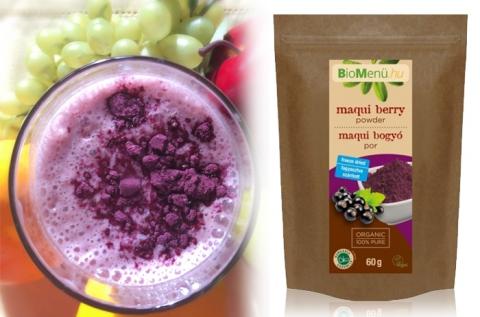 Bio Maqui Berry kivonat por 60 g-os kiszerelésben