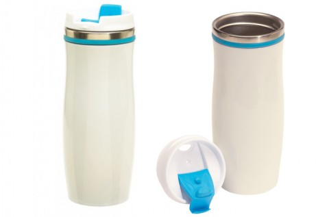 400 ml-es Crema duplafalú termosz bögre