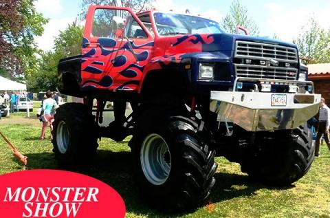 3 körös Monster Truck élményvezetés Gyálon
