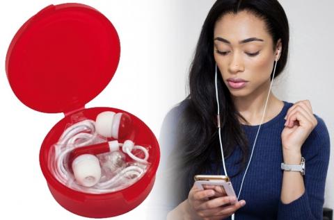 Fülhallgató 5 féle trendi színben, jack dugóval