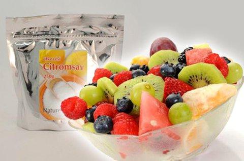 250 g nátrium-glutamát mentes étkezési citromsav