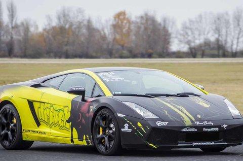 6 kör száguldás egy Lamborghini Gallardóval