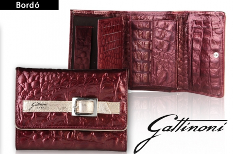 Elegáns Gattinoni női műbőr pénztárca