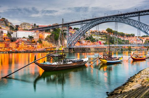 4 napos kikapcsolódás Portóban repülővel