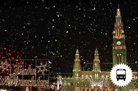 Szilveszteri mulatság Bécsben buszos utazással