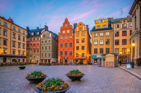Hosszú hétvége Stockholmban repülővel