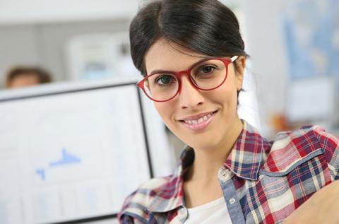 Szemüveg számítógépes munkavégzéshez