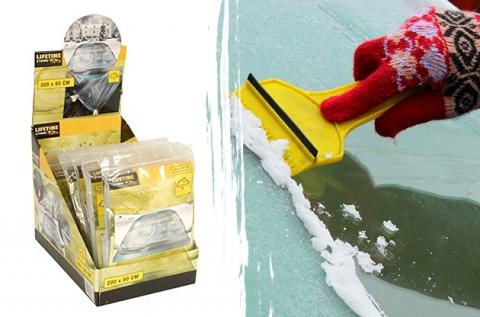 Lifetime jégvédő fólia szélvédőre