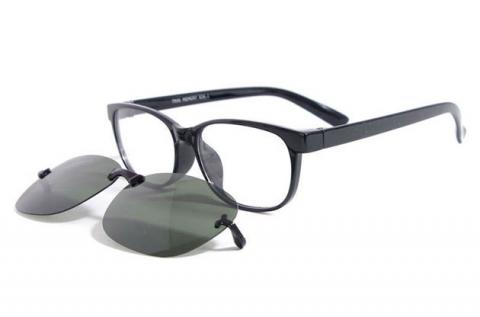 Speciális Clip-on szemüveg márkás kerettel