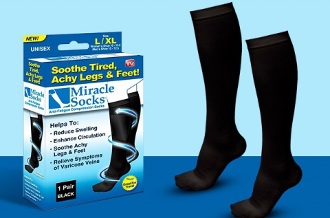 Kompressziós zokni az egészséges lábakért