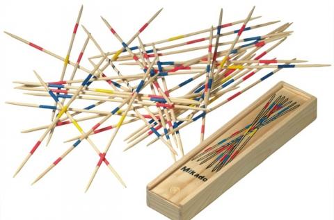 41 részes mikádó pálcikás ügyességi játék