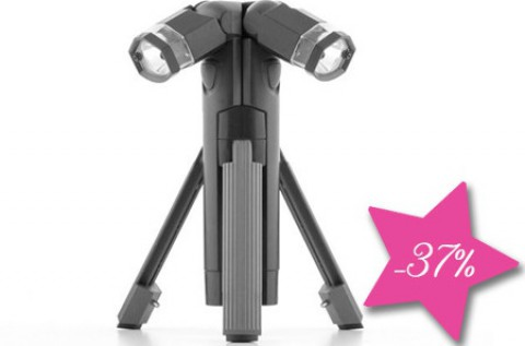 Total Torch LED-es tripod lámpa állvánnyal