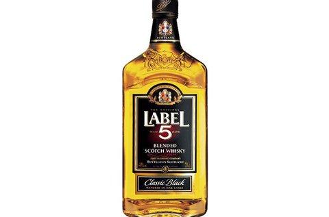 Prémium Label 5 Scotch whisky
