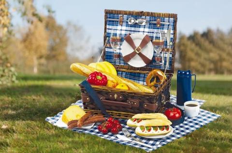 Praktikus, 2 személyes Central Park piknik kosár