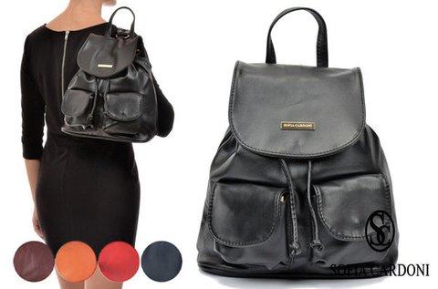 Sofia Cardoni Bellini női bőr hátizsák 5 színben