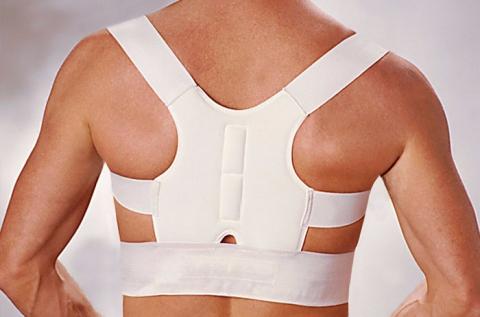 Dr. Levine's mágneses hátpánt fehér színben