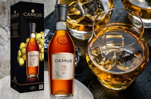 Francia Camus vs Elegance Cognac 0,7 l-es üvegben