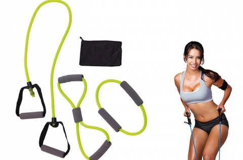 Sports Spirits gumikötél készlet otthoni edzéshez