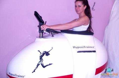 10 alkalom Hypoxi tréning edzés zsírgyalu kezeléssel