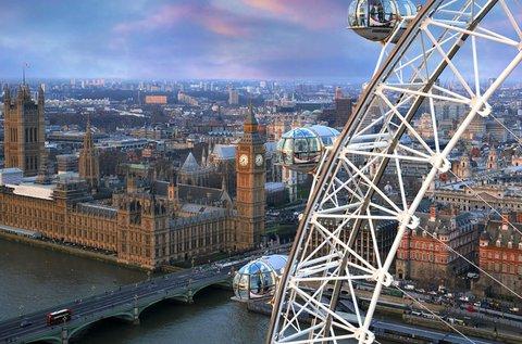 4 napos mesés kiruccanás Londonba repülővel