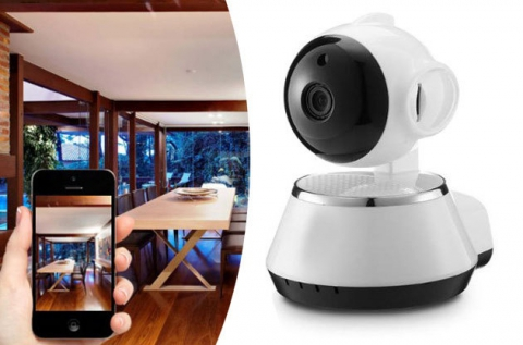 WIFI IP smart net kamera beépített mikrofonnal