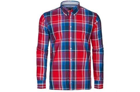46a0b92a67 Tommy Hilfiger kockás férfi ing piros-kék színben 19.990 Ft helyett ...