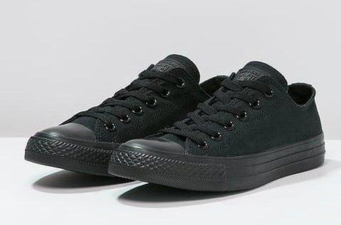 Converse fekete női cipő