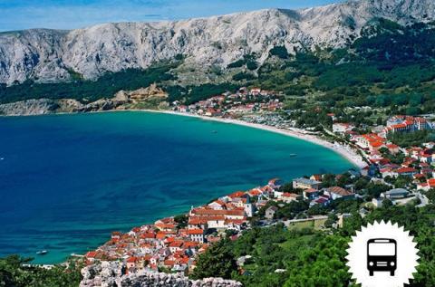 Buszos kirándulás Dalmáciában strandolással