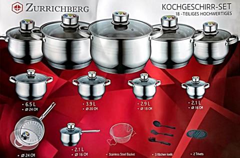 18 részes Zurrichberg edénykészlet