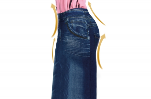 Slim Jeggings alakformáló szoknya 2 méretben