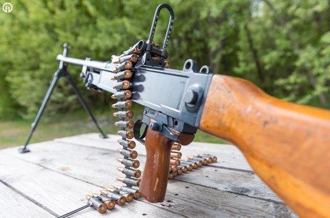 90 lövés Marauder lézeres géppisztollyal Ráckevén