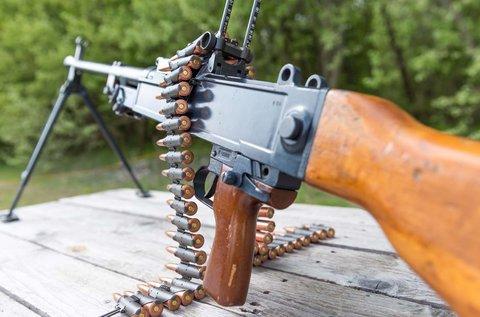 120 lövéses élménylövészet AK 47-es kalasnyikovval