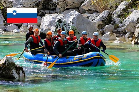 Rafting, canyoning vagy barlangászat Szlovéniában