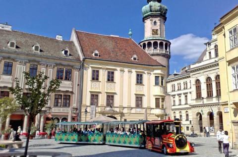 Soproni városnézés hajós piknikkel a Fertő-tavon