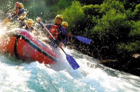 Szlovéniai rafting és kanyoning kalandtúra 1 főre